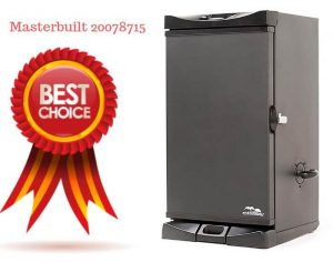 Masterbuilt 20078715.Best Electric Smoker