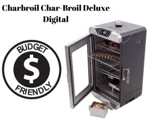 Budget Friendly Electric Smoker with glass front door