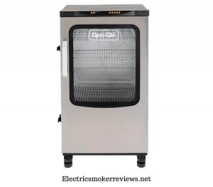 Dyna-Glo DGU951SSE-D Digital Bluetooth Electric Smoker, Silver