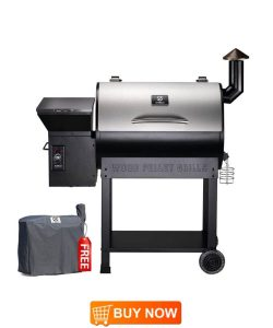 Z GRILLS ZPG-7002E 202 - Best Large Pellet Smoker Grill
